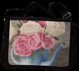 Tea Roses, Paintings, Fine Art, Botanical, Acrylic, By jennifer thuotte