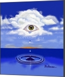 Tears from Heaven, Paintings, Surrealism, Spiritual, Acrylic, By Curtis Dickman