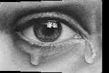 Tears in 3D, Drawings / Sketch, Realism, 3-D, Oil, By Stefan Pabst