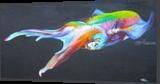 Technicolour Life, Paintings, Fine Art,Photorealism,Realism, Animals, Canvas,Oil, By Patrizia Grilli