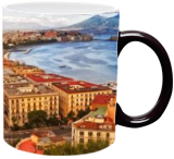 The bay of Napoli, Italy, Digital Art / Computer Art,Photography, Photorealism, Cityscape,Landscape, Digital, By Giuseppe 23 Esposito