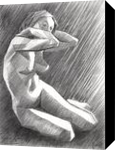 The Birth of New Cubism 2 - 02-05-14, Drawings / Sketch, Abstract,Fine Art,Impressionism,Realism,Surrealism, Anatomy,Composition,Erotic,Figurative,Inspirational,Nudes,People, Pencil, By Corne Akkers