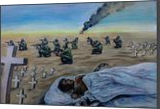 The Bloddy War 2, Paintings, Expressionism, Documentary, Canvas,Oil,Painting, By Berthold von Kamptz