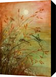 the charm of late summer, Paintings, Fine Art, Botanical,Landscape,Nature, Acrylic, By Marta Kuźniar