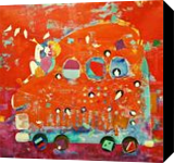 The childhood xiv, Paintings, Abstract,Expressionism,Fine Art,Impressionism,Modernism,Pop Art,Realism,Surrealism, Children,Conceptual,Decorative,Fantasy,Figurative,Inspirational,Nature, Acrylic,Canvas, By Shiv Kumar Soni