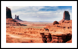 The Cowboy, Photography, Photorealism, Land Art,Landscape, Photography: Premium Print, By Mike DeCesare