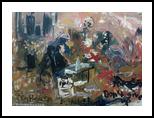 The Daily Chaos Life, Paintings, Expressionism, Art Brut, Daily Life, Documentary, Canvas, Oil, Painting, By Berthold von Kamptz