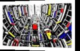 The Elevators 248, Digital Art / Computer Art, Abstract, Architecture, Digital, By Joshua Bindseil