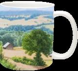 The Farm, Paintings, Fine Art,Photorealism,Realism, Landscape,Nature, Oil,Wood, By Dejan Trajkovic