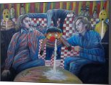 The Generation-X-Party, Paintings, Expressionism, Art Brut,Documentary, Oil,Painting, By Berthold von Kamptz