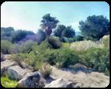 The Kishon River 1, Digital Art / Computer Art, Fine Art, Landscape, Digital, By BENARY  IMAGE