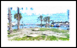 The Kishon River 12, Digital Art / Computer Art, Fine Art, Landscape, Digital, By BENARY  IMAGE