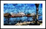 The Kishon River 13, Digital Art / Computer Art, Fine Art, Landscape, Digital, By BENARY  IMAGE