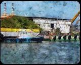 The Kishon River 16, Digital Art / Computer Art, Fine Art, Landscape, Digital, By BENARY  IMAGE