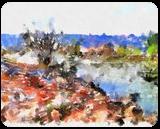 The Kishon River 18, Digital Art / Computer Art, Fine Art, Landscape, Digital, By BENARY  IMAGE