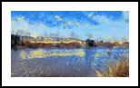 The Kishon River 8, Digital Art / Computer Art, Fine Art, Landscape, Digital, By BENARY  IMAGE
