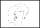 The Lady of Balchik, Digital Art / Computer Art, Fine Art, Portrait, Digital, By Arnvid Aakre