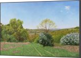 The Meadow in Spring, Paintings, Fine Art,Photorealism,Realism, Landscape,Nature, Canvas,Oil, By Dejan Trajkovic