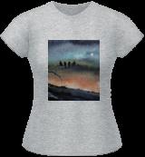 The Night Watchman, Paintings, Fine Art, Landscape, Watercolor, By james Allen lagasse
