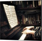 The piano lesson, Digital Art / Computer Art,Paintings,Photography, Impressionism, Music,Performance Art, Digital, By Giuseppe 23 Esposito