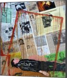 The Price Of Fame and Fortune, Collage, Expressionism, Art Brut,Conceptual,Daily Life,Documentary, Acrylic,Mixed, By Berthold von Kamptz