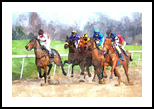 THE RACE, Digital Art / Computer Art, Realism, Animals, Digital, By William Clark