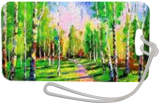 The road to the birch grove, Paintings, Impressionism, Botanical,Landscape,Nature,Wildlife, Canvas,Oil,Painting, By Olha   Vyacheslavovna Darchuk