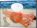 The sea., Paintings, Abstract, Figurative, Canvas, By ZAKIR AHMEDOV