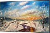 The winter vacation, Paintings, Impressionism, Landscape, Oil, By Valeriy Politov
