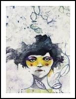 Ti conosco mascherina, Paintings, Expressionism,Fine Art, Figurative,People,Portrait, Acrylic,Oil, By Alessandro Andreuccetti