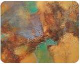 Time traveling, original abstract painting, Paintings, Abstract, Cityscape,Fantasy, Acrylic,Canvas, By Emilia Milcheva