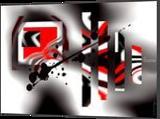 Torero, Decorative Arts,Digital Art / Computer Art,Graphic, Abstract, Avant-Garde,Composition, Digital, By Sévi Cabell Maghee