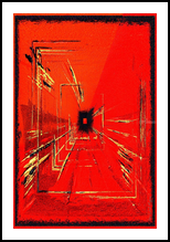 Tortillas II, Digital Art / Computer Art,Paintings, Abstract, Avant-Garde, Acrylic,Digital, By Sévi Cabell Maghee