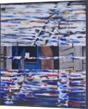 Traffic on Elm St, Paintings, Abstract, Moving Images, Acrylic, By Martha Struber