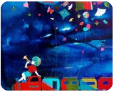 Treasure of the childhood vii, Paintings, Abstract,Expressionism,Impressionism,Modernism,Pop Art, Children,Conceptual,Decorative,Music,Nature, Acrylic,Canvas, By Shiv Kumar Soni