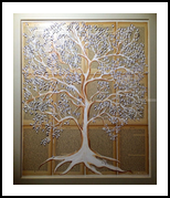 Tree #1, Collage, Abstract, 3-D, Mixed, By Lucyanne Driusi Terni