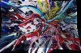 Tropezia, Paintings, Abstract, 3-D,Avant-Garde,Fantasy,Grotesque, Acrylic,Digital, By Sévi Cabell Maghee