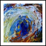 Tropical #2, Paintings, Abstract, Tropical, Oil, By fred wilson