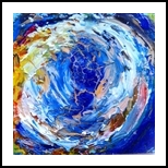 Tropical #5, Paintings, Abstract, Tropical, Oil, By fred wilson