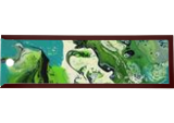 Turbulence, Paintings, Abstract, Conceptual,Decorative,Seascape, Acrylic, By Halley Toft