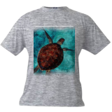 Turtle, Digital Art / Computer Art, Realism, Animals, Digital, By Joshua Bindseil