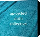 UCCC Turquoise, Printmaking, Commercial Design, Decorative, Fiber, By Melanie Brummer