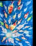 Under the sea, Paintings, Primitive, Inspirational, Watercolor, By Ira Olegovna Samoilina