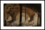 Under The Villa, Drawings / Sketch, Expressionism,Fine Art, Architecture,Landscape, Fresco,Ink,Pencil, By Gregory Kitterle
