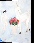 Unicorn, Paintings, Surrealism, Fantasy, Oil, By Natasa Menart