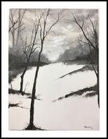 untitled as of yet, Paintings, Realism, Landscape, Oil, By Stephen Keller