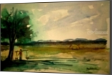 Urban Life, Land Art, Fine Art, Daily Life,Landscape, Watercolor, By asm g ambia