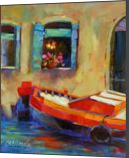 Venetian Red, Paintings, Impressionism, Architecture,Cityscape,Daily Life,Machnine Forms,Seascape, Oil, By Chris Brandley