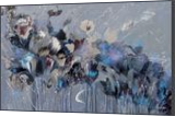 """VERY LARGE Painting """"Flower melody-2"""", Paintings, Abstract, Botanical,Fantasy,Floral,Nature, Acrylic,Canvas, By Irini Karpikioti"""