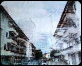 Via Arno (n.418), Paintings, Abstract, Cityscape, Acrylic, By Alessio Mazzarulli